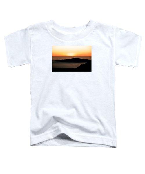 Mauna Kea Sunset Toddler T-Shirt