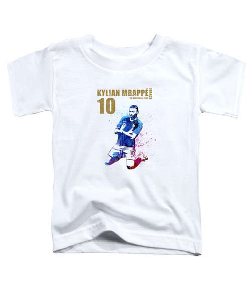 Mbappe #gold #world Cup 2018 #france Toddler T-Shirt
