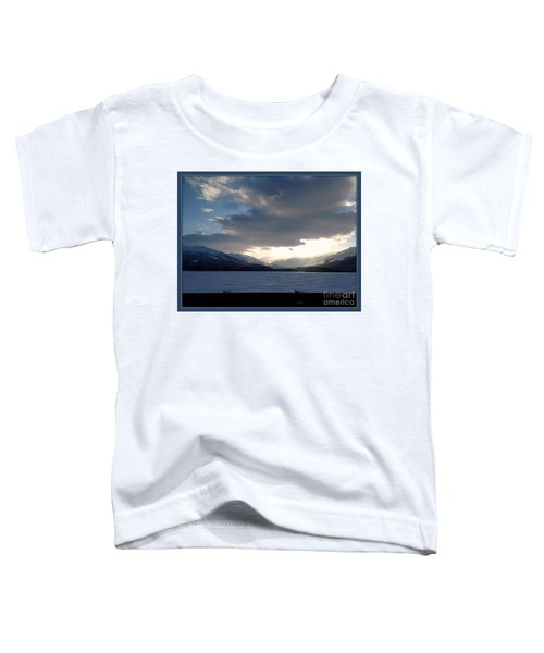 Toddler T-Shirt featuring the photograph Mckinley by James Lanigan Thompson MFA