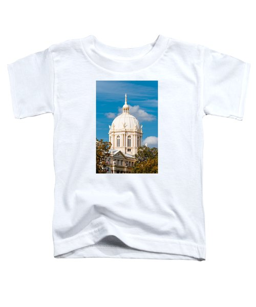 Mclennan County Courthouse Dome By J. Reily Gordon - Waco Central Texas Toddler T-Shirt