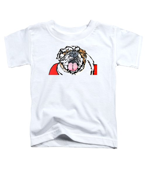 Meatball The Bull Dog Toddler T-Shirt