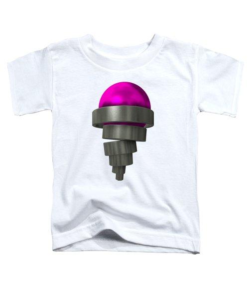 Mechaniccal Purple Ice Cream Toddler T-Shirt