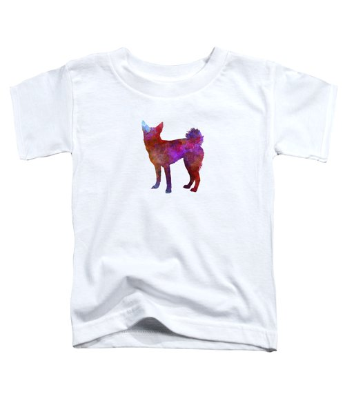 Medium Griffon Vendeen In Watercolor Toddler T-Shirt by Pablo Romero
