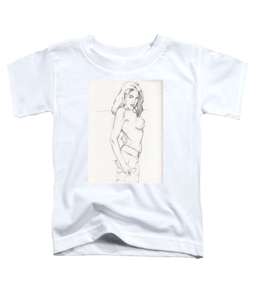 Megan - Sketch Toddler T-Shirt