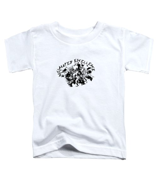 Melanated Excellence IIi Toddler T-Shirt