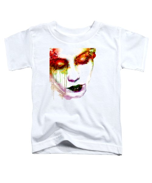 Melancholy In Watercolor Toddler T-Shirt