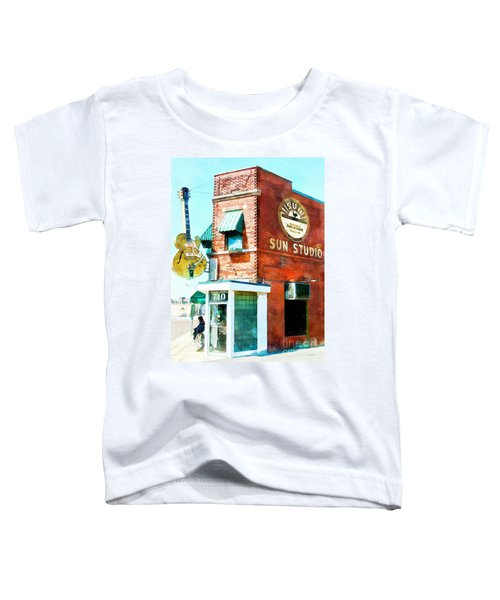 Memphis Sun Studio Birthplace Of Rock And Roll 20160215wcstyle Toddler T-Shirt