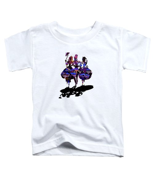Menage A Trois On Transparent Background Toddler T-Shirt