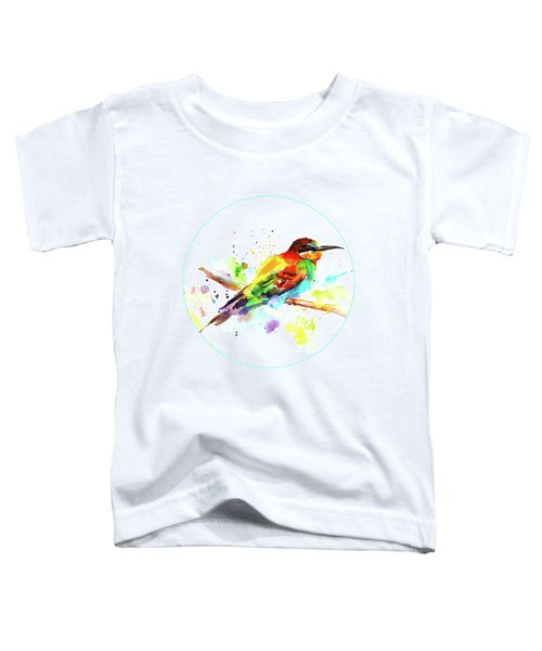 Merops Apiaster Toddler T-Shirt