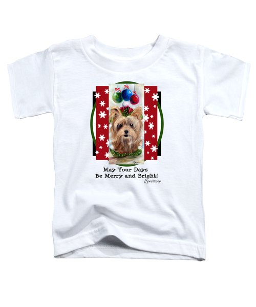 Merry And Bright Toddler T-Shirt