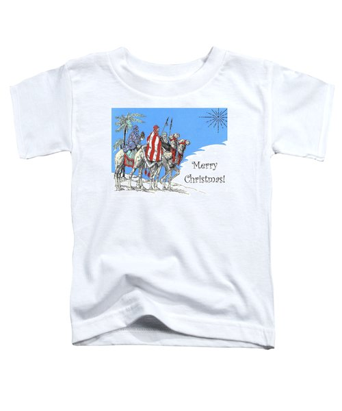 Merry Christmas From Bedouins Toddler T-Shirt