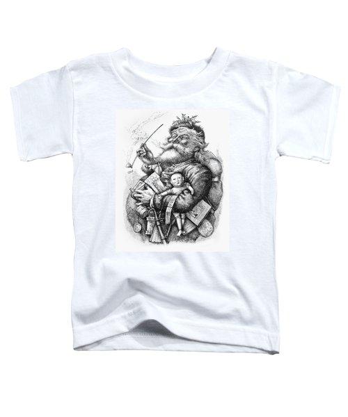 Merry Old Santa Claus Toddler T-Shirt