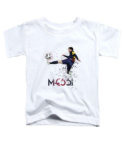 Messi Toddler T-Shirt by Armaan Sandhu