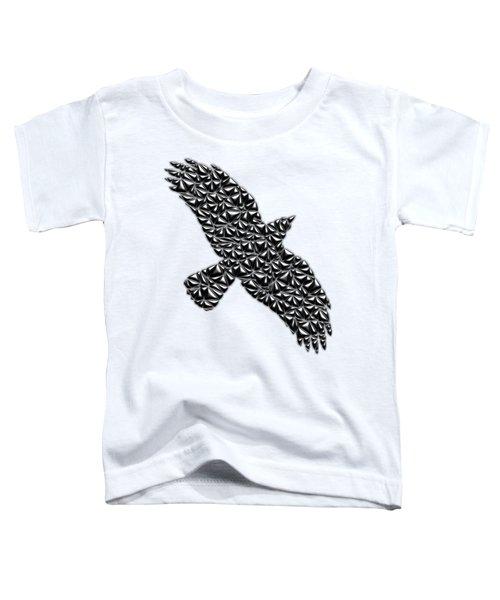 Metallic Crow Toddler T-Shirt
