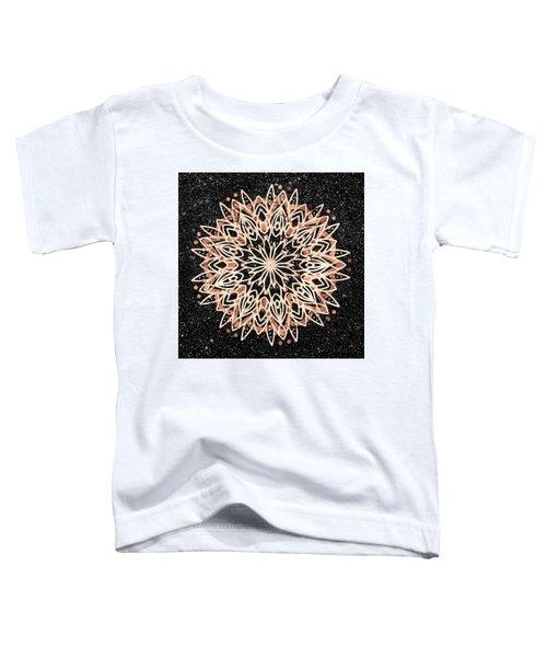 Metallic Mandala Toddler T-Shirt