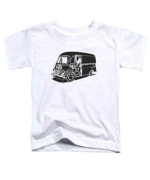 Metro Step Van Tee Toddler T-Shirt by Edward Fielding