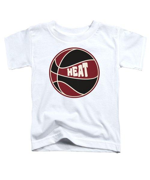 Miami Heat Retro Shirt Toddler T-Shirt