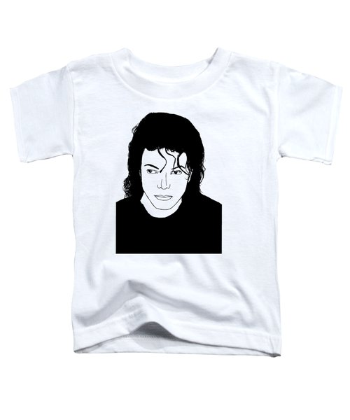 Michael Jackson Toddler T-Shirt by Lionel B