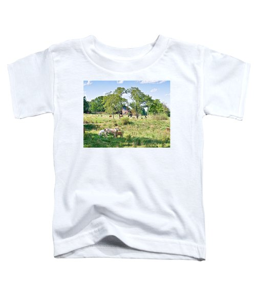 Midwest Cattle Ranch Toddler T-Shirt