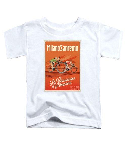 Milan San Remo Toddler T-Shirt