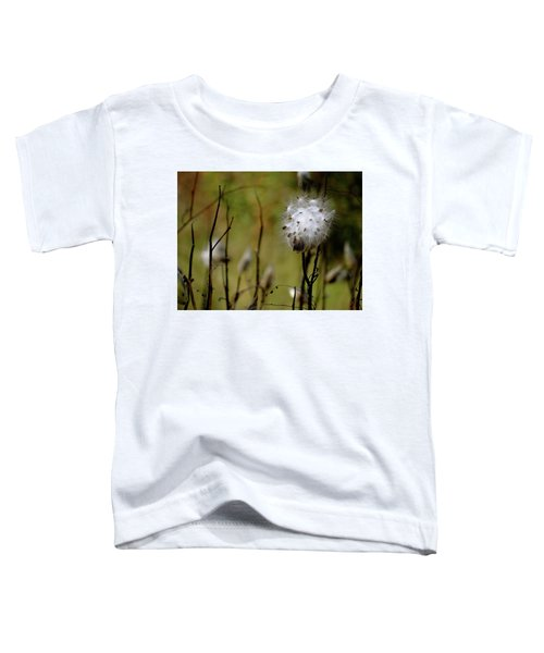 Milkweed In A Field Toddler T-Shirt
