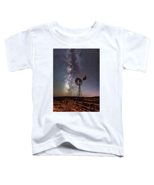 Milky Way At Dubinky Well Toddler T-Shirt