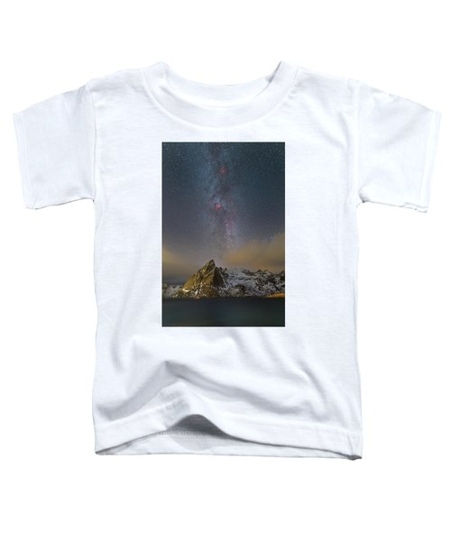 Milky Way In Lofoten Toddler T-Shirt