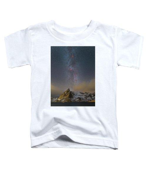 Milky Way In Lofoten Toddler T-Shirt