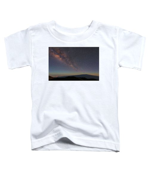 Milky Way Over Mauna Loa Toddler T-Shirt