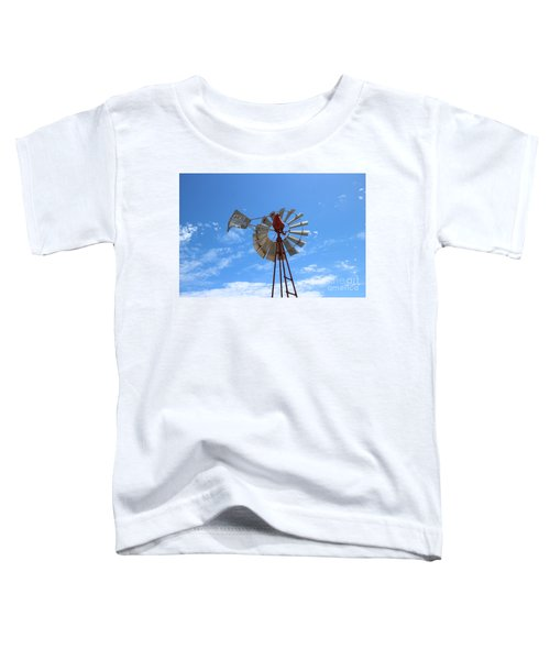 Toddler T-Shirt featuring the photograph Milled Wind by Stephen Mitchell