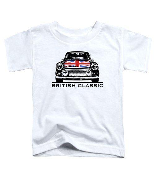 Mini British Classic Toddler T-Shirt