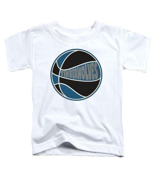 Minnesota Timberwolves Retro Shirt Toddler T-Shirt