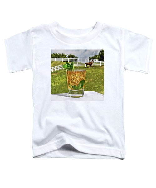 Mint Julep Kentucky Derby Toddler T-Shirt