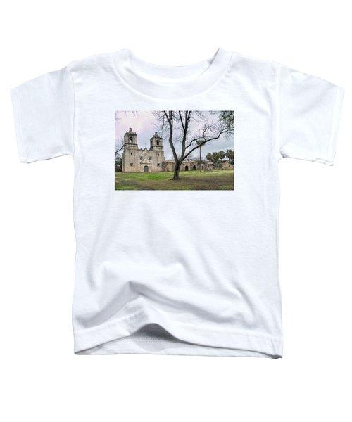 Mission Concepcion Facade Toddler T-Shirt