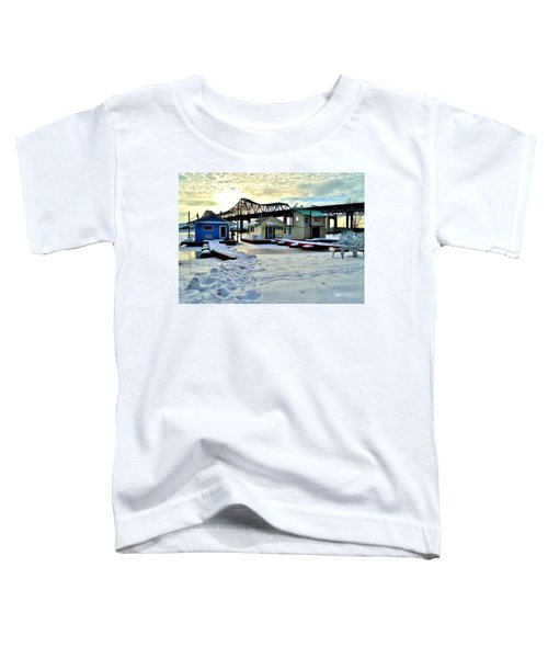 Mississippi River Boathouses Toddler T-Shirt