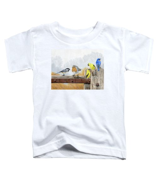 Misty Morning Meadow Toddler T-Shirt