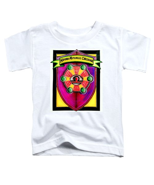 Mitchell-creehan Ancestral Healing Family Crest Toddler T-Shirt