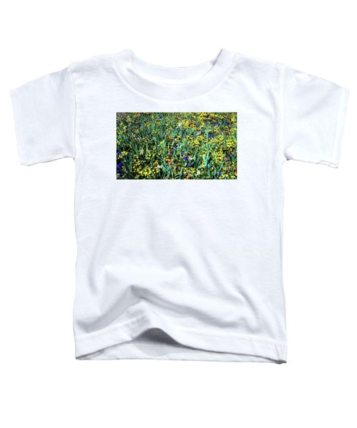 Mixed Wildflowers In Texas Toddler T-Shirt