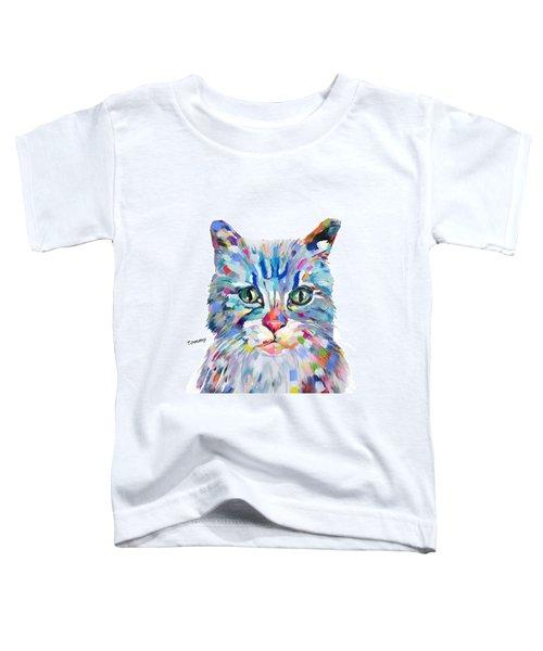Modern Cat Toddler T-Shirt