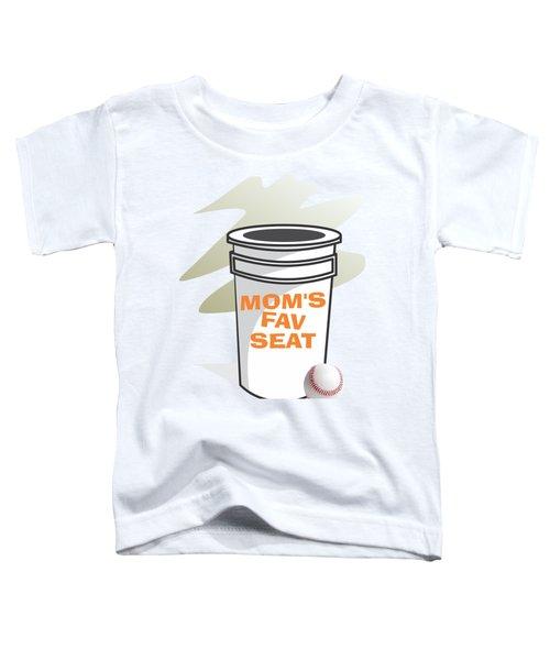 Mom's Favorite Seat Toddler T-Shirt