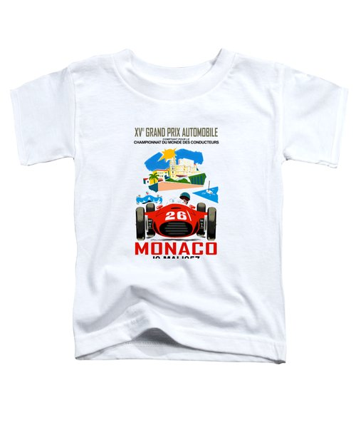 Monaco 1957 Toddler T-Shirt