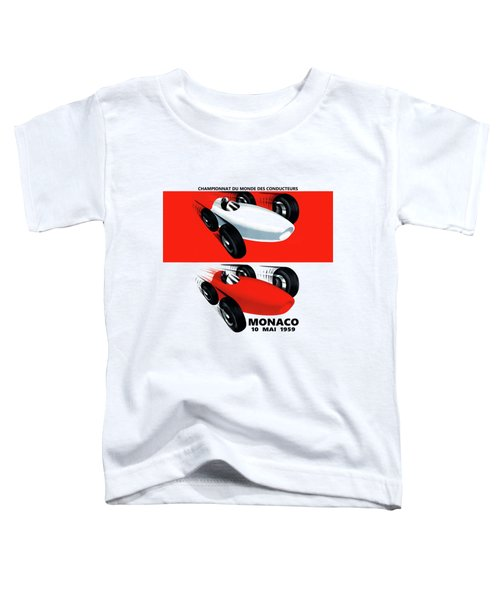 Monaco 1959 Toddler T-Shirt