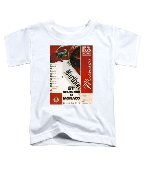 Monaco F1 1993 Toddler T-Shirt