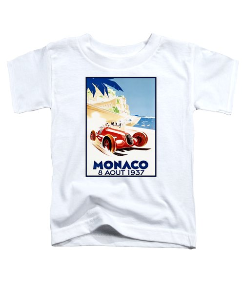 Monaco Grand Prix 1937 Toddler T-Shirt