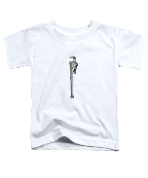 Moncky Wrench Bw Toddler T-Shirt