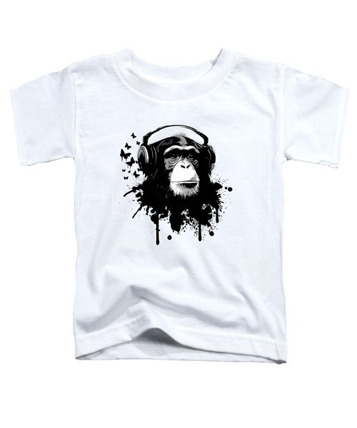 Monkey Business Toddler T-Shirt by Nicklas Gustafsson
