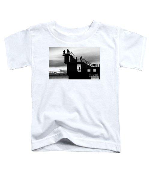 Mono Sunset Blackrock  Toddler T-Shirt