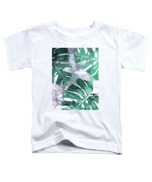 Monstera Theme 1 Toddler T-Shirt