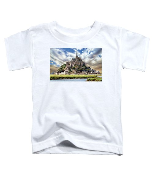 Mont Saint-michel Toddler T-Shirt