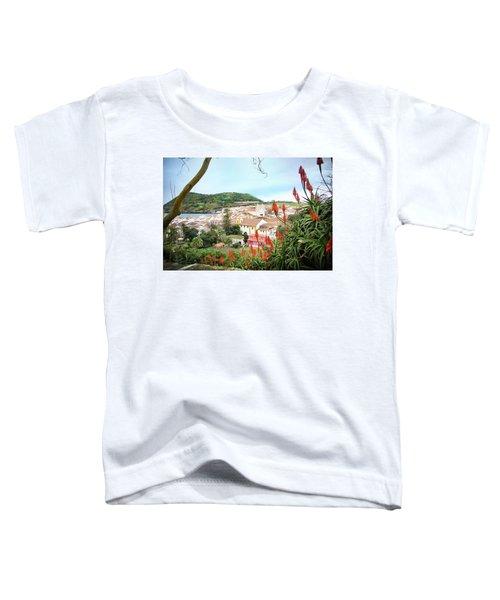 Monte Brasil And Angra Do Heroismo, Terceira Toddler T-Shirt